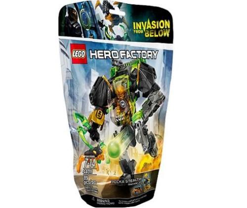Lego Hero Factory 44019 Maszyna Niewykrywalna Rocka Worldtoyspl