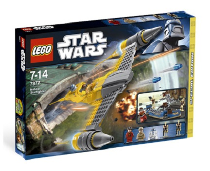 LEGO Star Wars 7877 Naboo Fighter