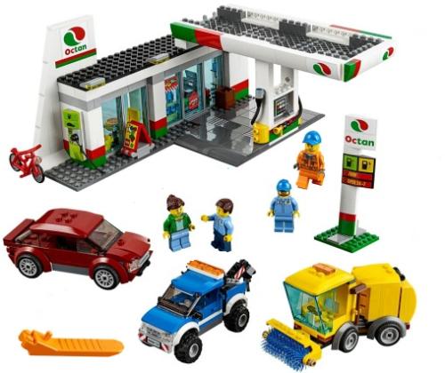 Lego 60132 City Stacja Paliw Wiek 7 12 Worldtoyspl