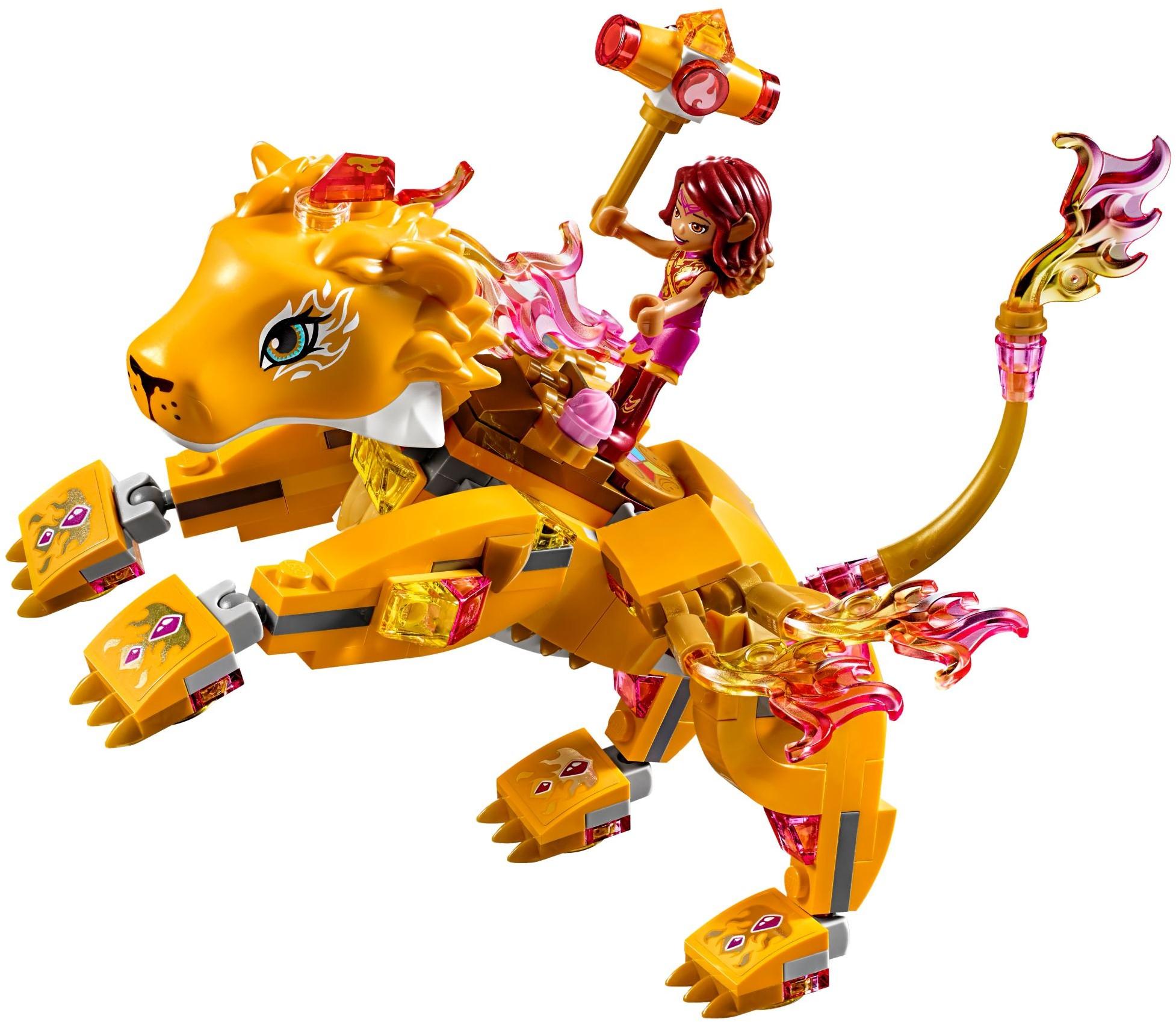 LEGO ® Elves 41192 Azari i schwytanie lwa ognia
