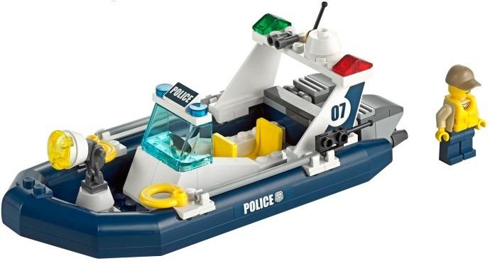 Lego 60069 City Posterunek Policji Wodnej Worldtoyspl
