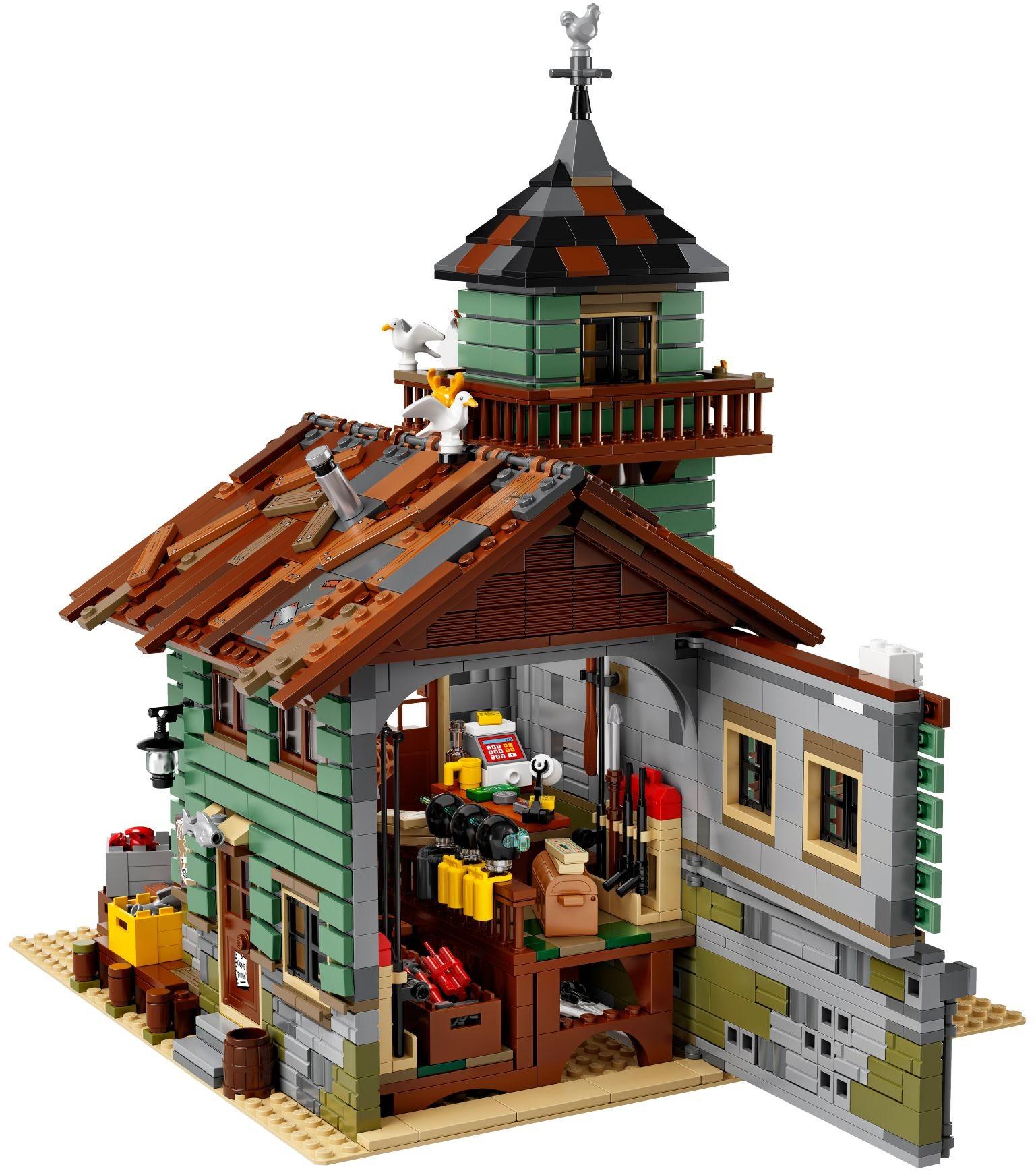 LEGO ® 21310 Ideas Sklep wędkarski
