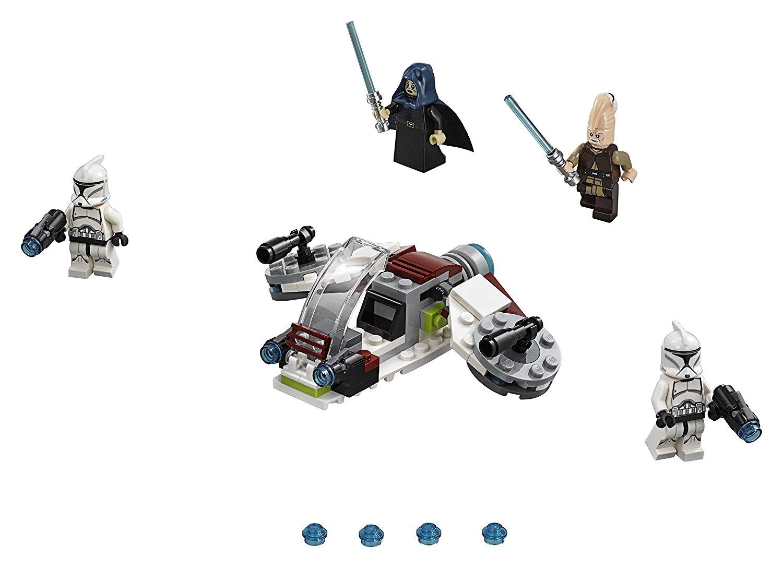 LEGO ® 75206 Star wars Bitewny pakiet z Jedi i Klonami