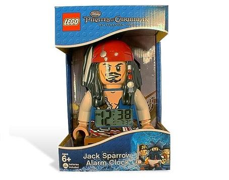 Lego Budzik Piraci Z Karaibów Kpt Sparrow Worldtoyspl