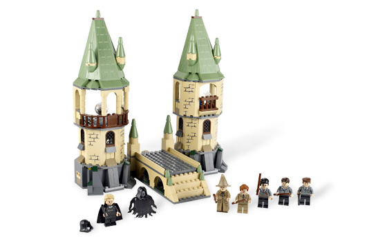 Lego Harry Potter 4867 Bitwa O Hogwart Worldtoyspl