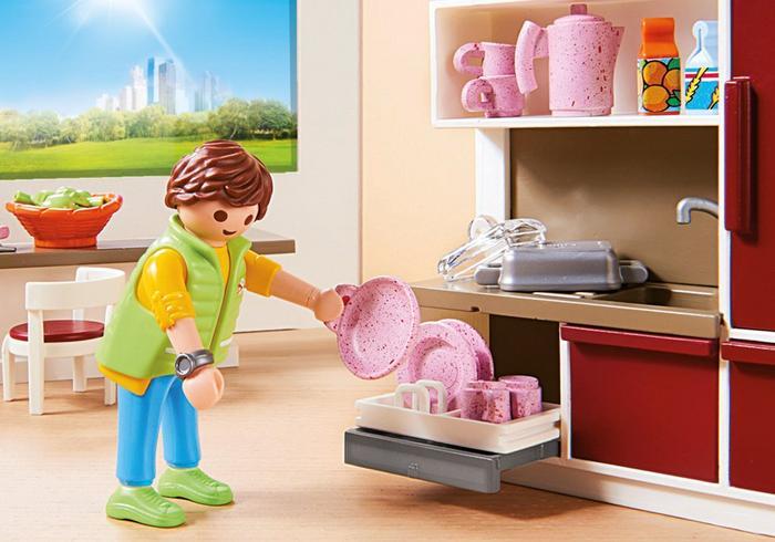 Playmobil 9269 Duża Rodzinna Kuchnia Worldtoys Pl