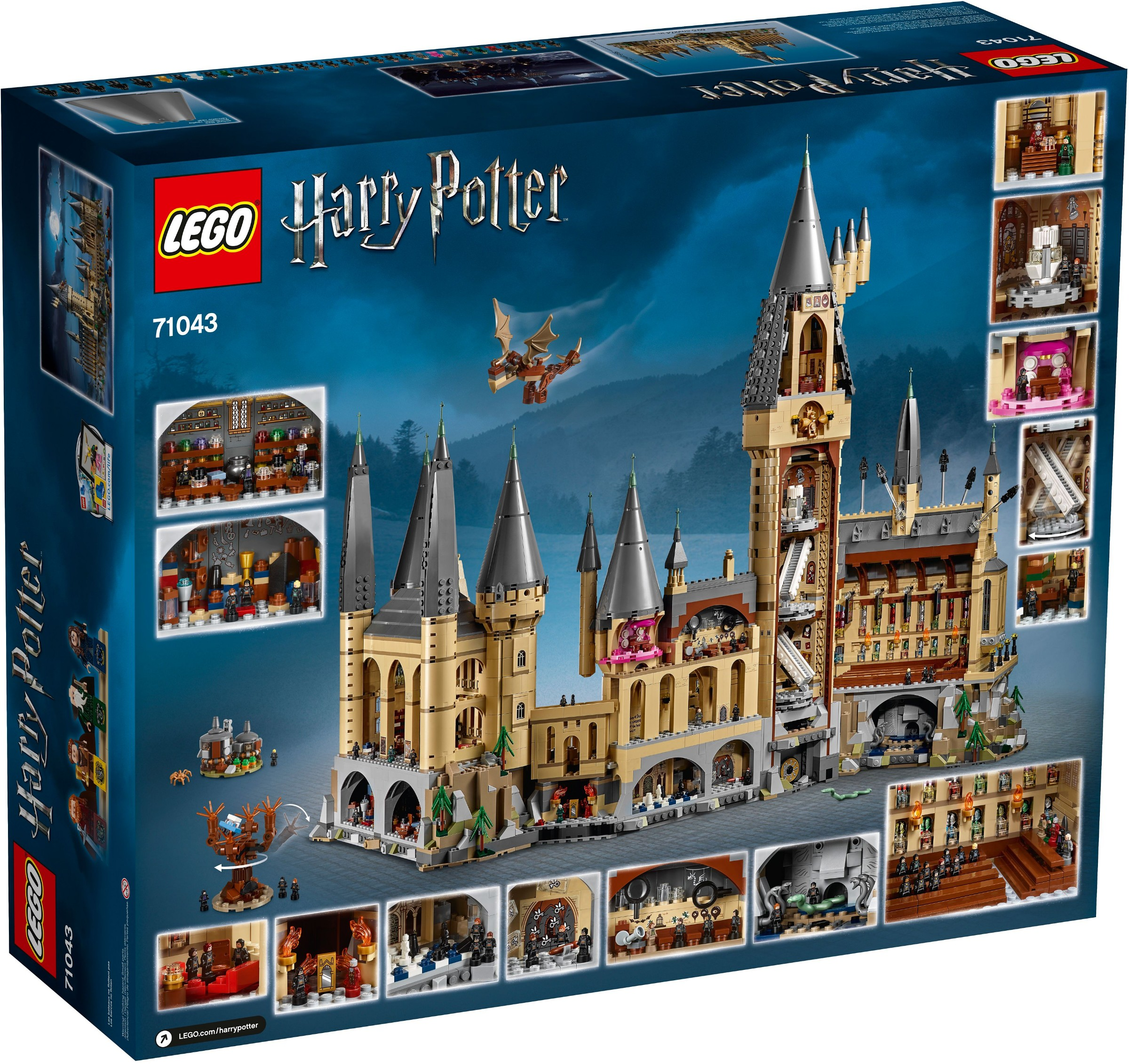 Lego 71043 Harry Potter Zamek Hogwart Worldtoyspl