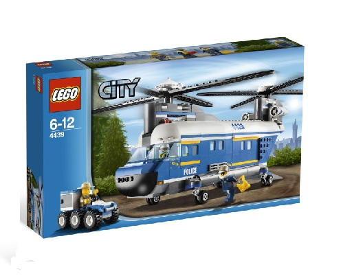 Lego 4439 City Policja Leśna Helikopter Worldtoyspl
