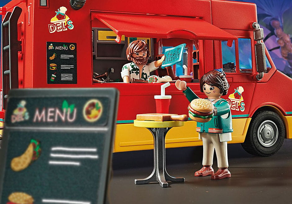 PLAYMOBIl: THE MOVIE Food Truck Del'a