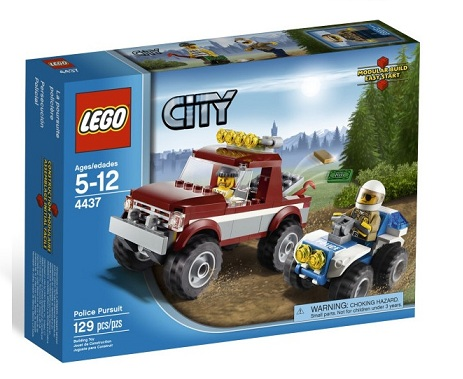 Lego 4437 City Policja Leśna 4437 Pościg Policyjny Worldtoyspl