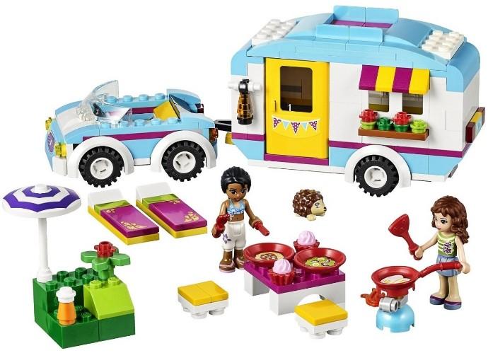 Lego 41034 Friends Samochód Z Przyczepą Worldtoyspl