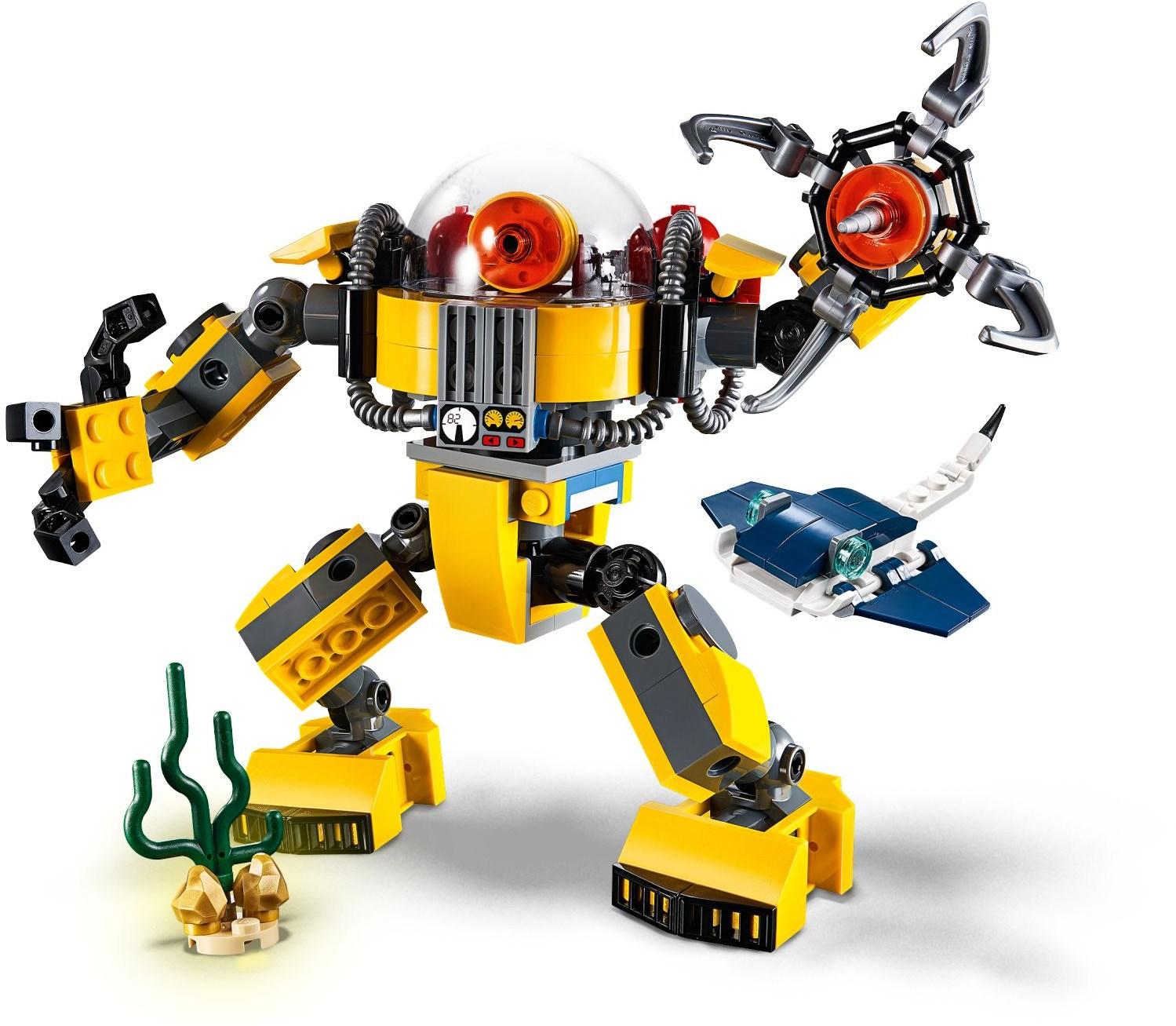 Lego Creator 31090 Podwodny Robot Worldtoyspl
