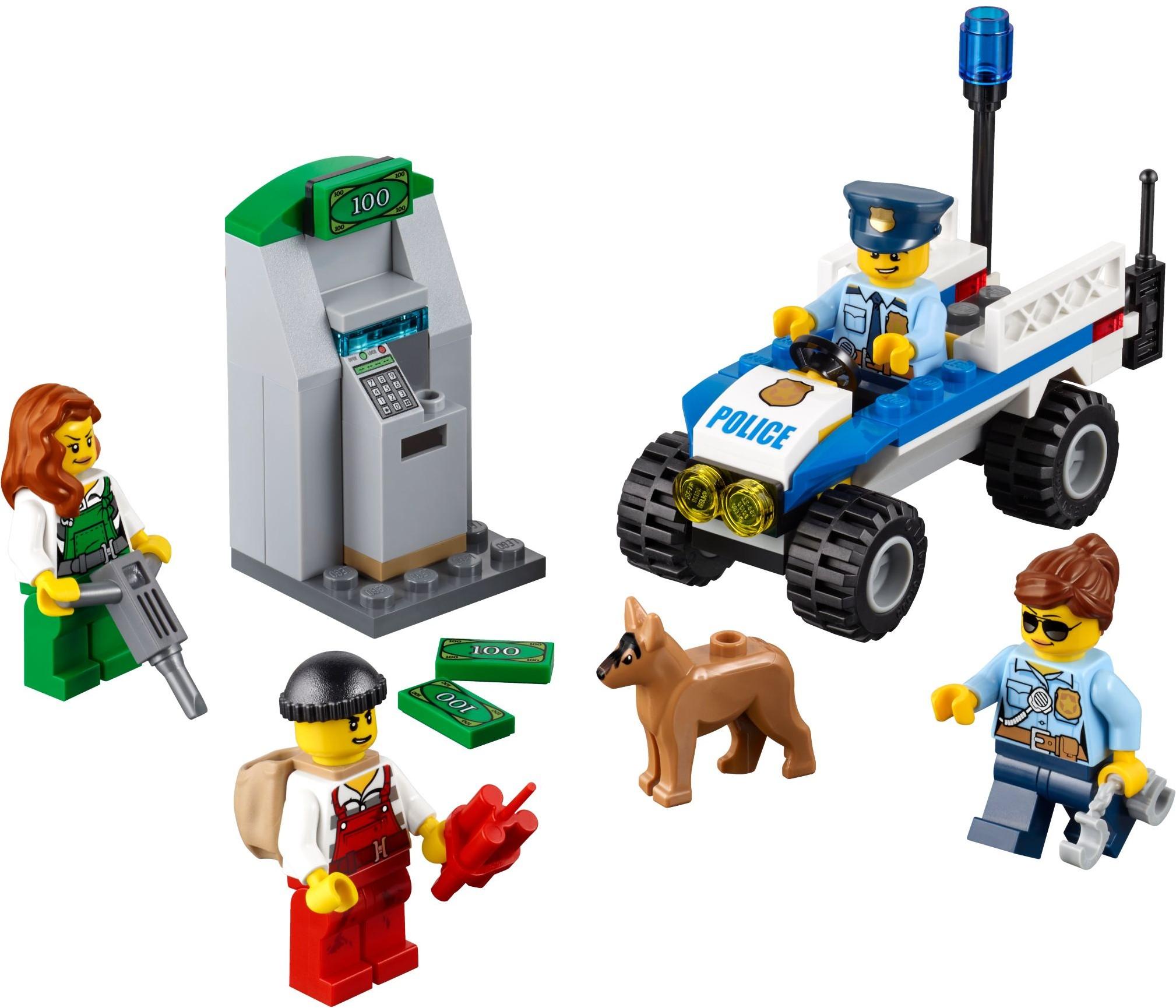 Lego 60136 City Policja Zestaw Startowy Worldtoyspl