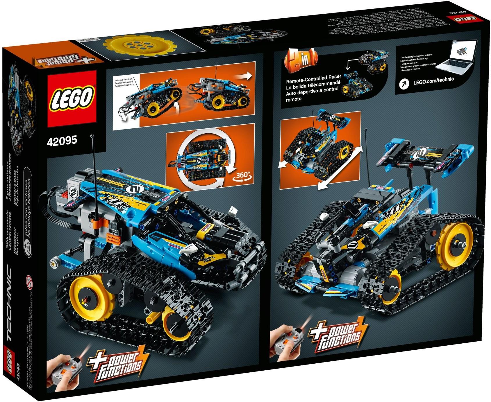 Lego Technic 42095 Sterowana Wyścigówka Kaskaderska Worldtoyspl