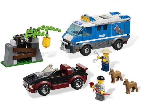 Lego City Policja Leśna 4441 Samochód Dla Psów Worldtoyspl