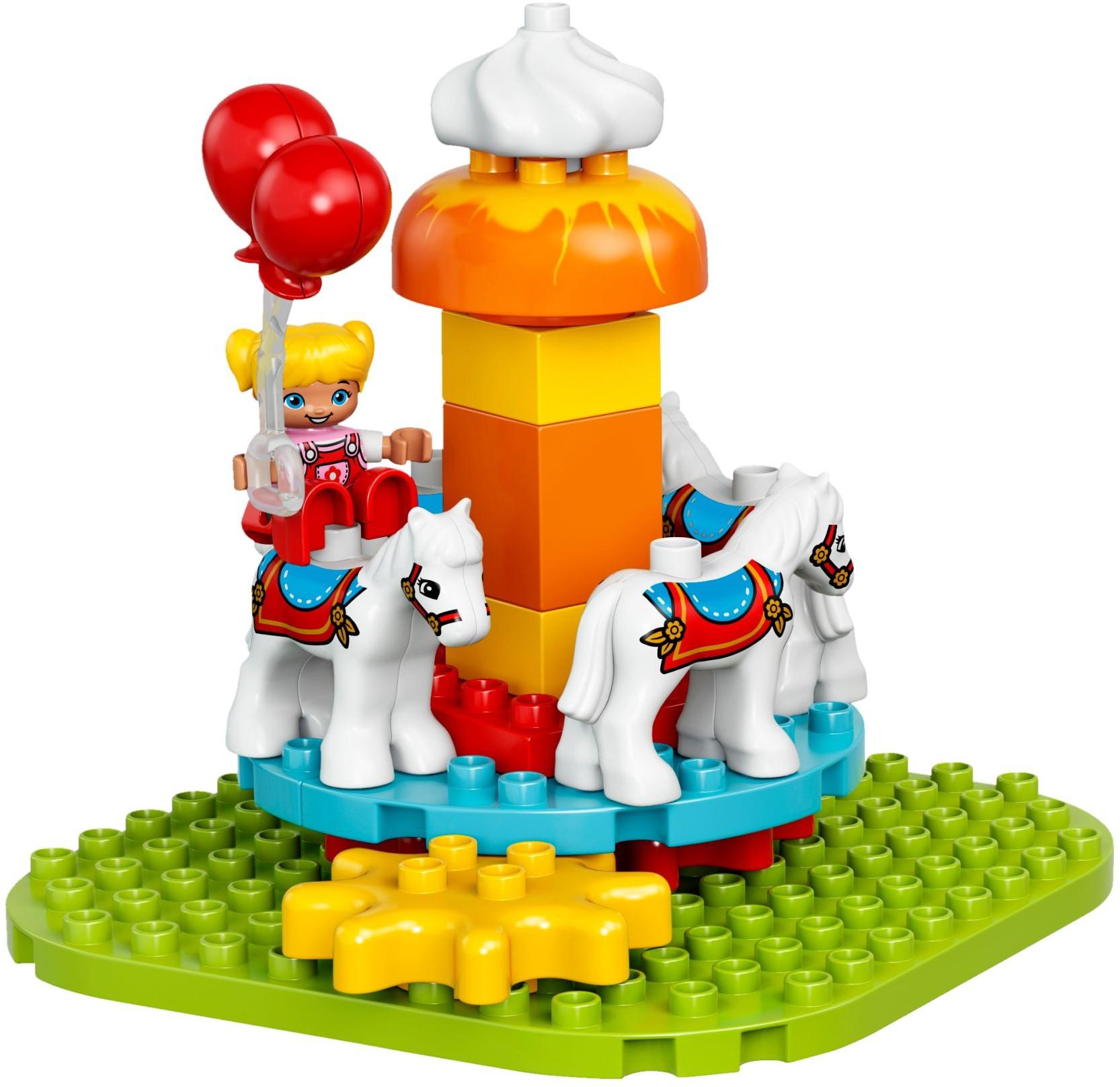 Lego 10840 Duplo Duże Wesołe Miasteczko Worldtoyspl