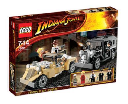 Lego Indiana Jones 7682 Shanghai Chase Worldtoyspl