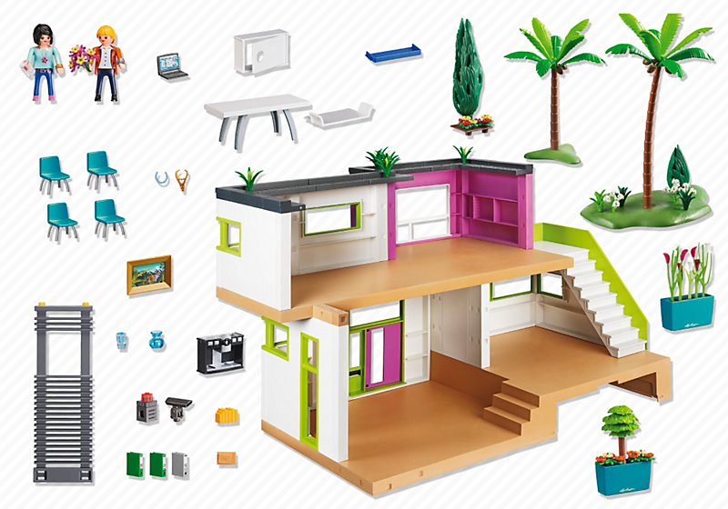 Best Salon Villa Moderne Play Mobil Contemporary - Awesome Interior ...