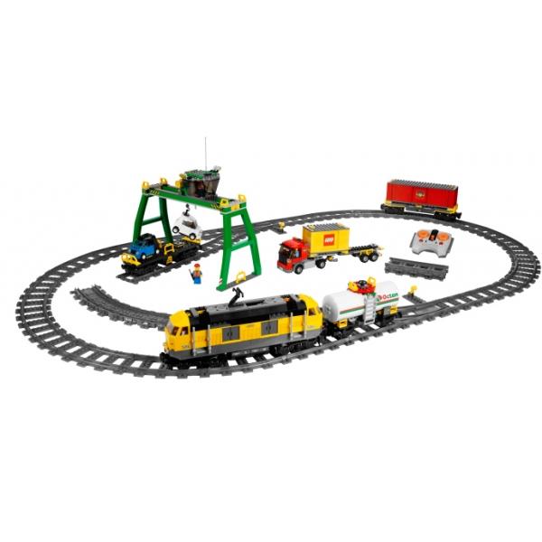 Lego 7939 City Pociąg Towarowy Worldtoyspl