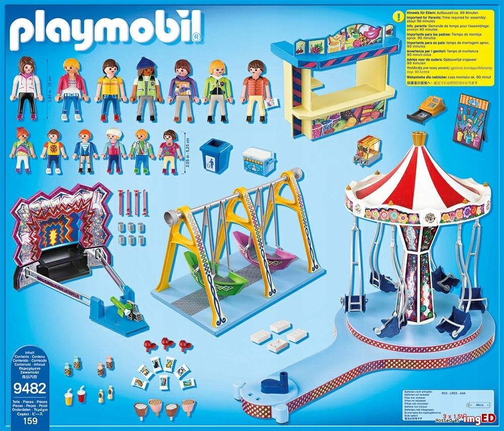 Playmobil 9482 Wesołe Miasteczko Worldtoyspl
