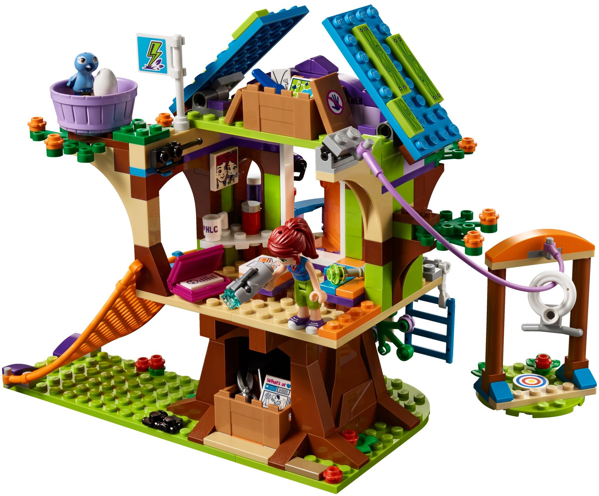 Lego 41335 Domek Na Drzewie Mii Worldtoyspl