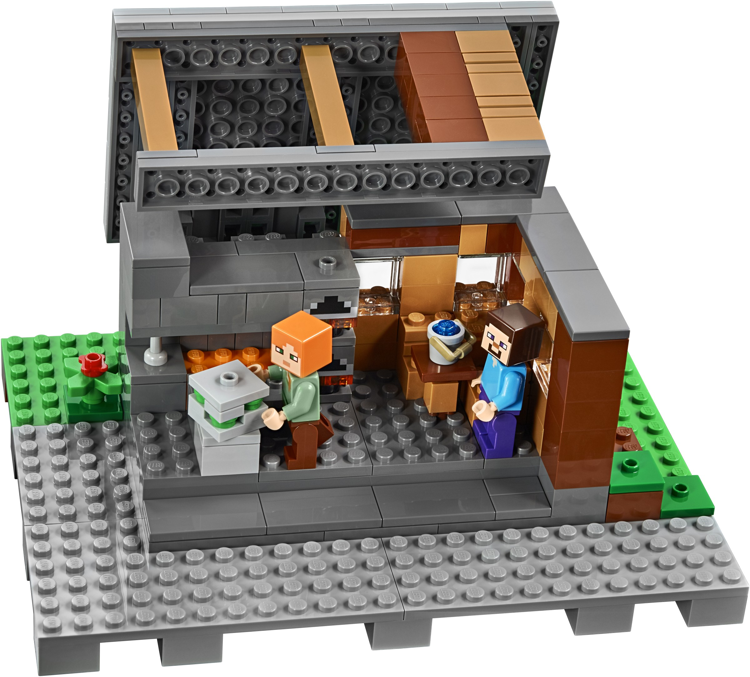 Lego 21128 Minecraft The Village Worldtoyspl