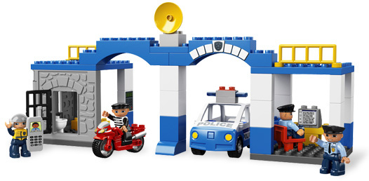Lego 5681 Duplo Posterunek Policji Worldtoyspl
