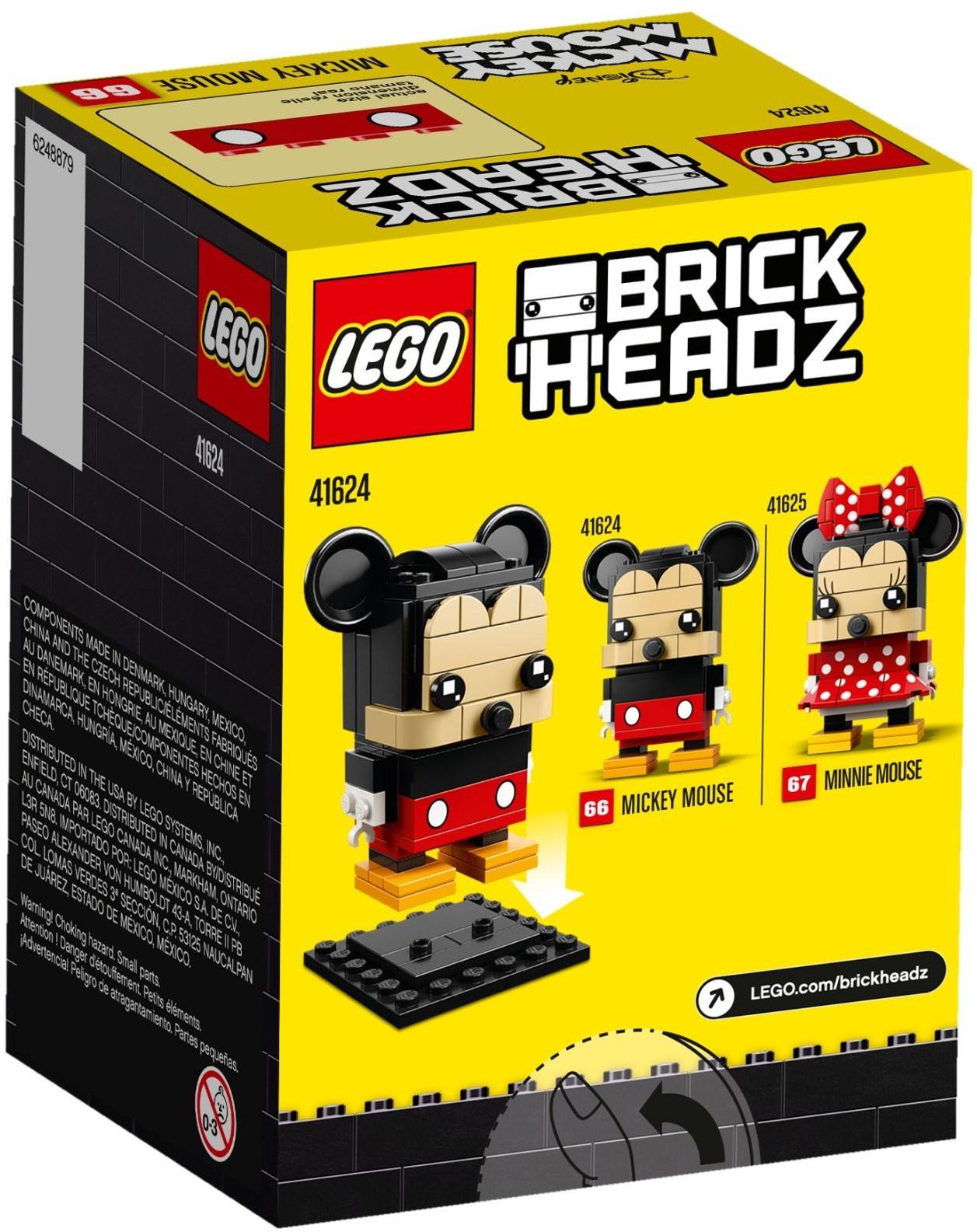 Lego 41624 Brickheadz Myszka Miki Worldtoyspl