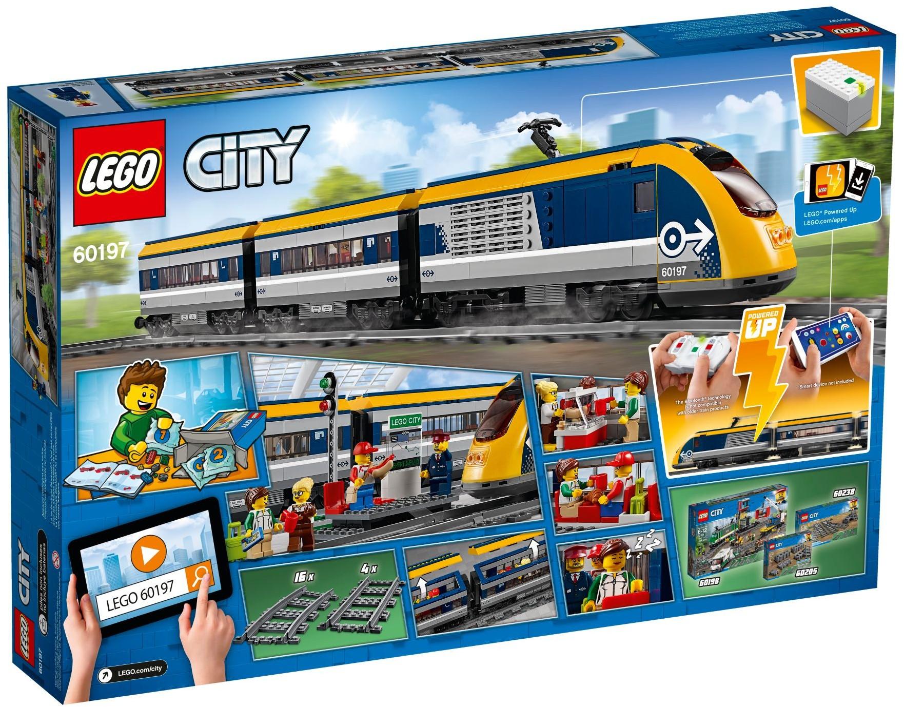 Lego 60197 City Pociąg Pasażerski Worldtoyspl