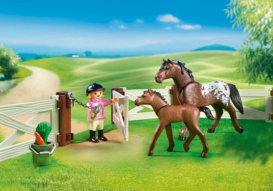 PLAYMOBIL 6931 Wybieg dla konia