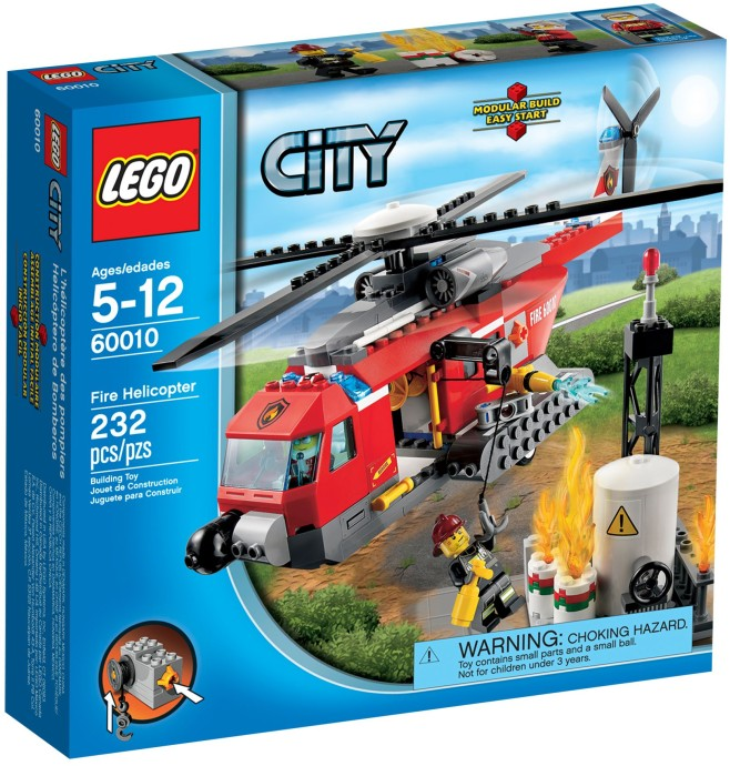 Lego 60010 City Helikopter Strażacki Worldtoyspl