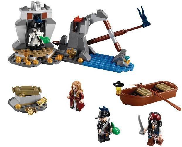 Lego Pirates Of The Caribbean 4181 Wyspa Umarłych Worldtoyspl