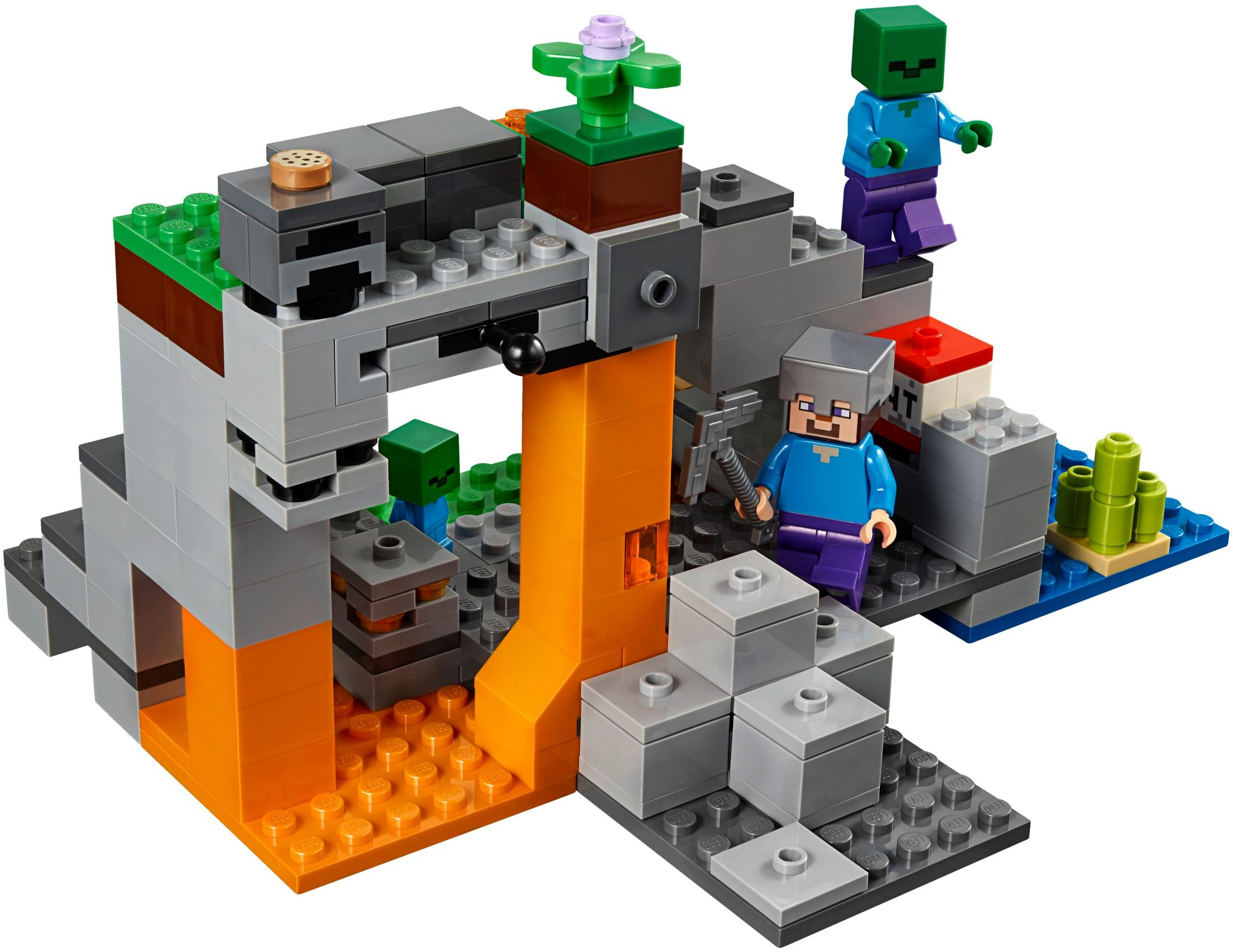 02c5049aa LEGO ® Minecraft 21141 Jaskinia zombie- worldtoys.pl