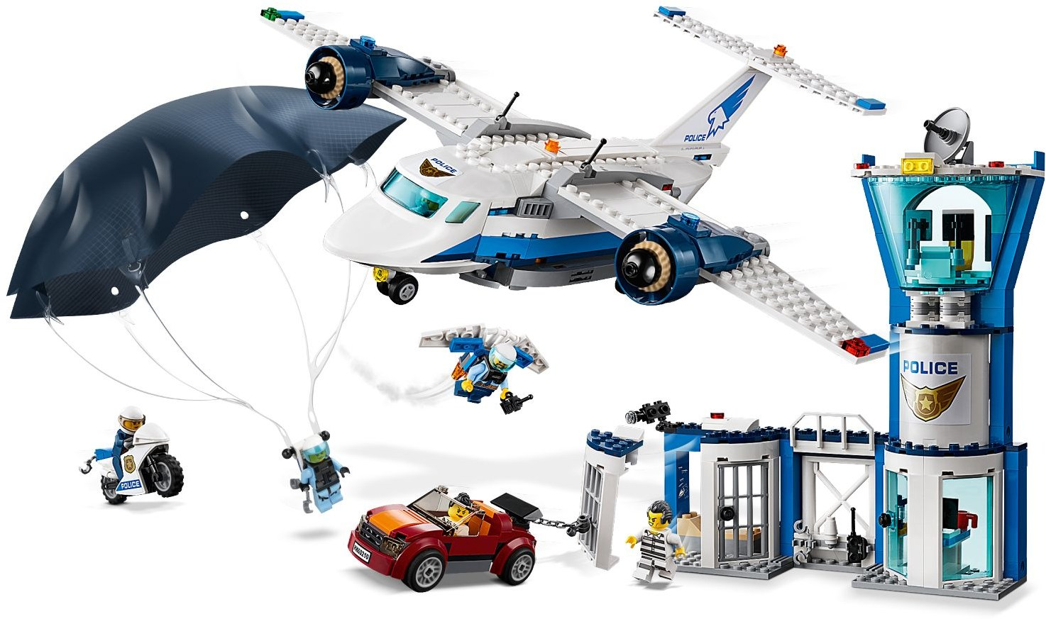Lego City 60210 Baza Policji Powietrznej Worldtoyspl