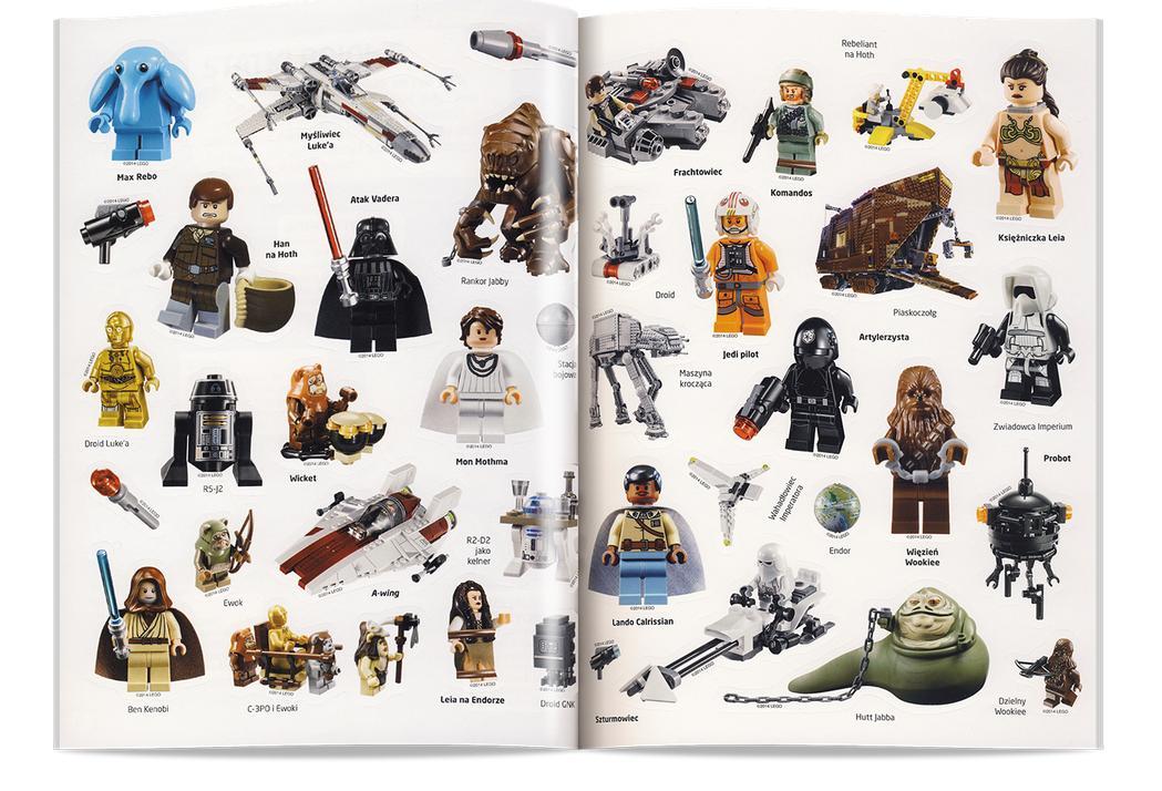 Lego Star Wars Książka Potęga Imperium Worldtoyspl