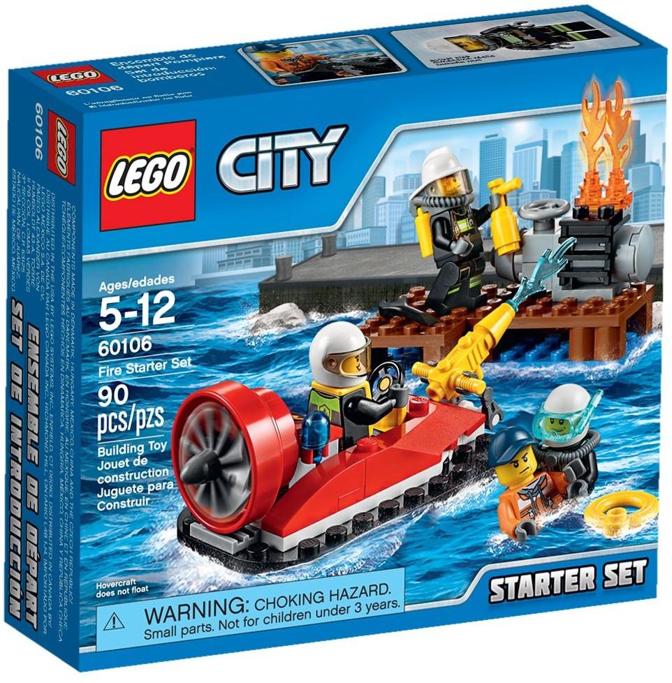 Lego 60106 City Strażacy Zestaw Startowy Worldtoyspl