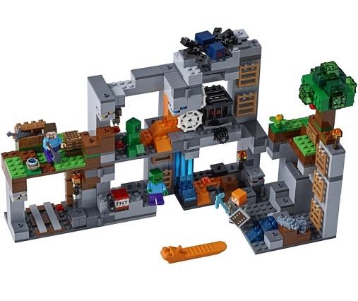 Lego 21147 Minecraft Przygody Na Skale Macierzystej Worldtoyspl