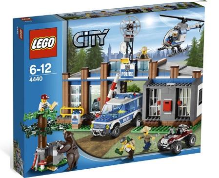 Lego 4440 City Policja Leśna Leśny Posterunek Worldtoyspl