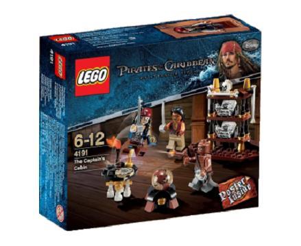 Lego 4191 Pirates Of The Caribbean Kajuta Kapitana Worldtoyspl