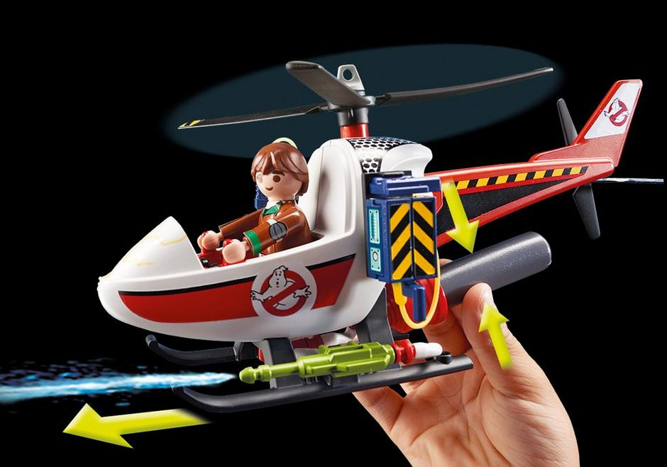 PLAYMOBIL 9385 Venkman z helikopterem