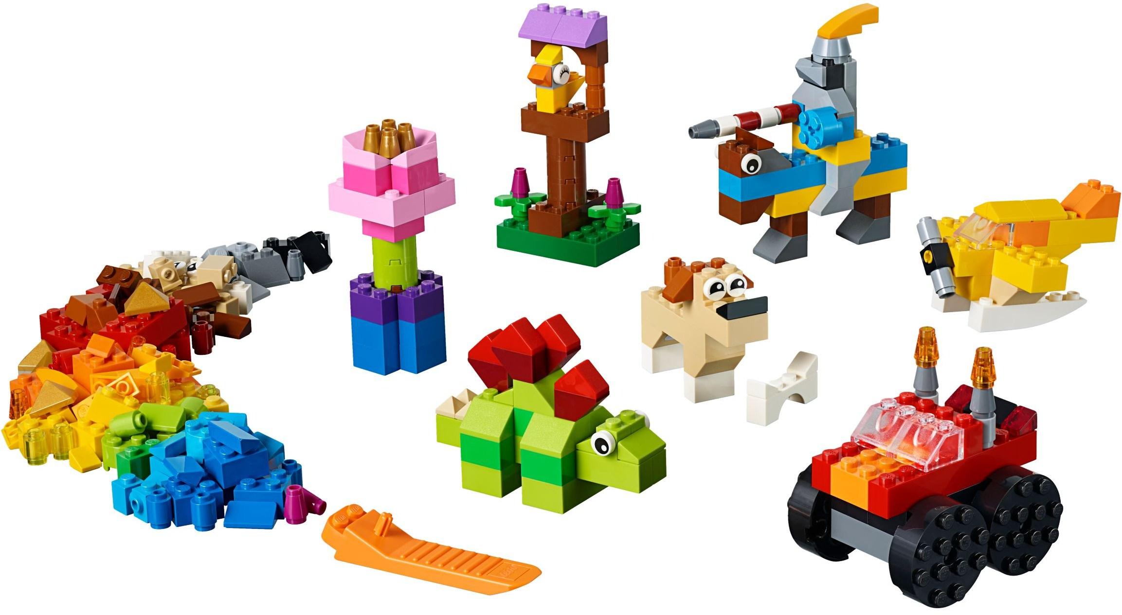 Lego Classic 11002 Podstawowe Klocki Worldtoyspl