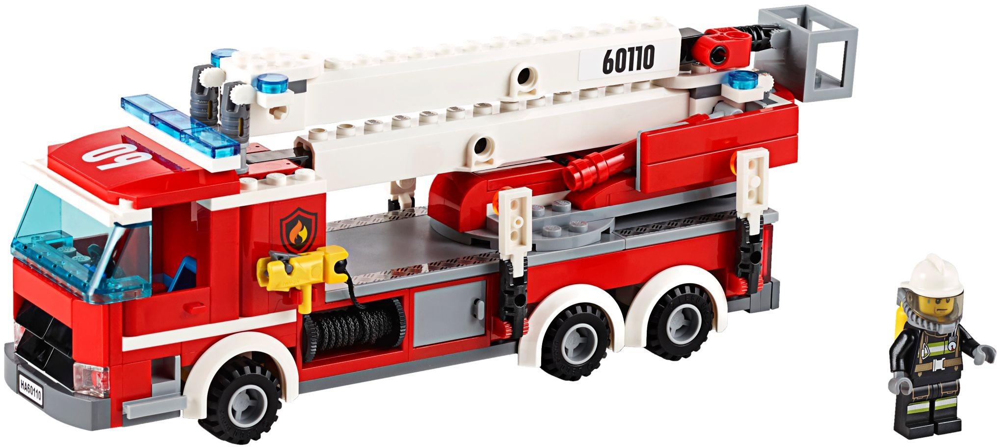 Lego 60110 City Remiza Strażacka Worldtoyspl