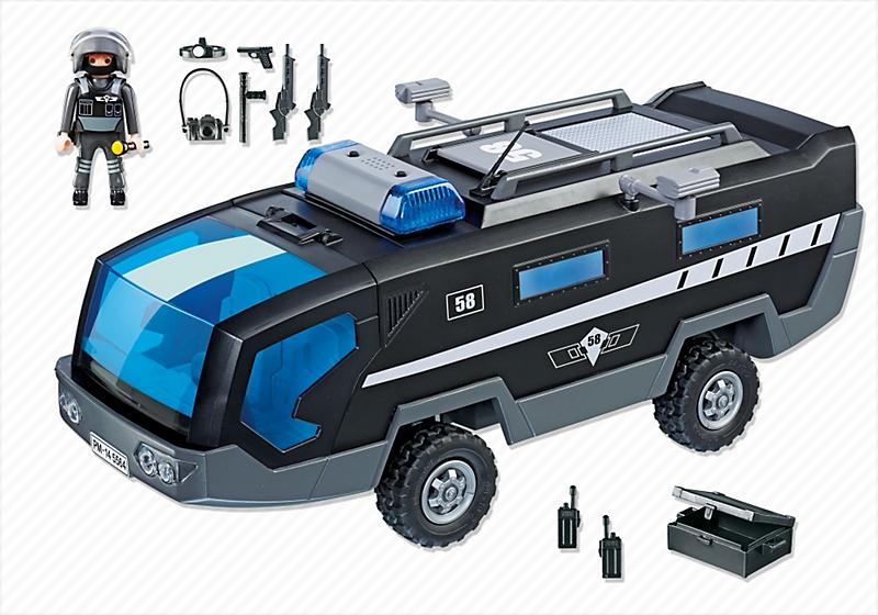 Playmobil 5564 Pojazd Jednostki Specjalnej Ze światłem I Dźwiękiem