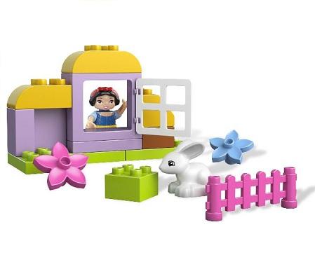LEGO 6152 Duplo Chatka Królewny Śnieżki